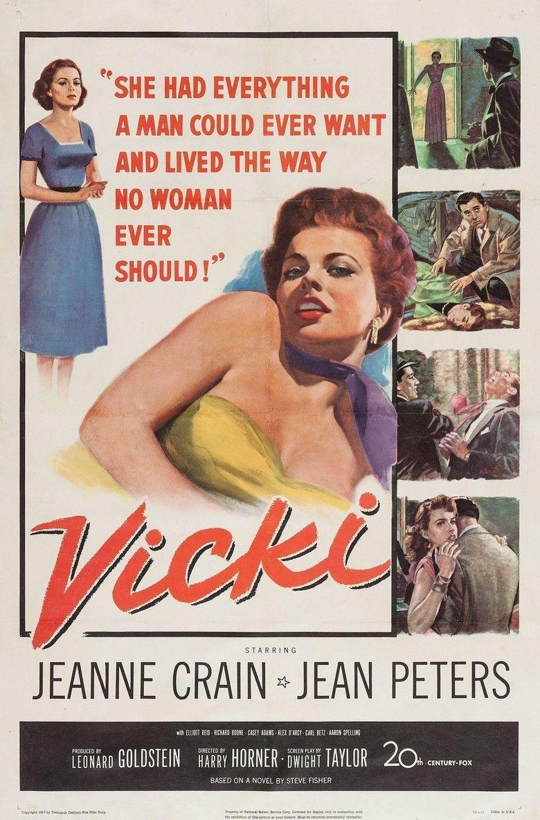 Vicki (film) movie poster