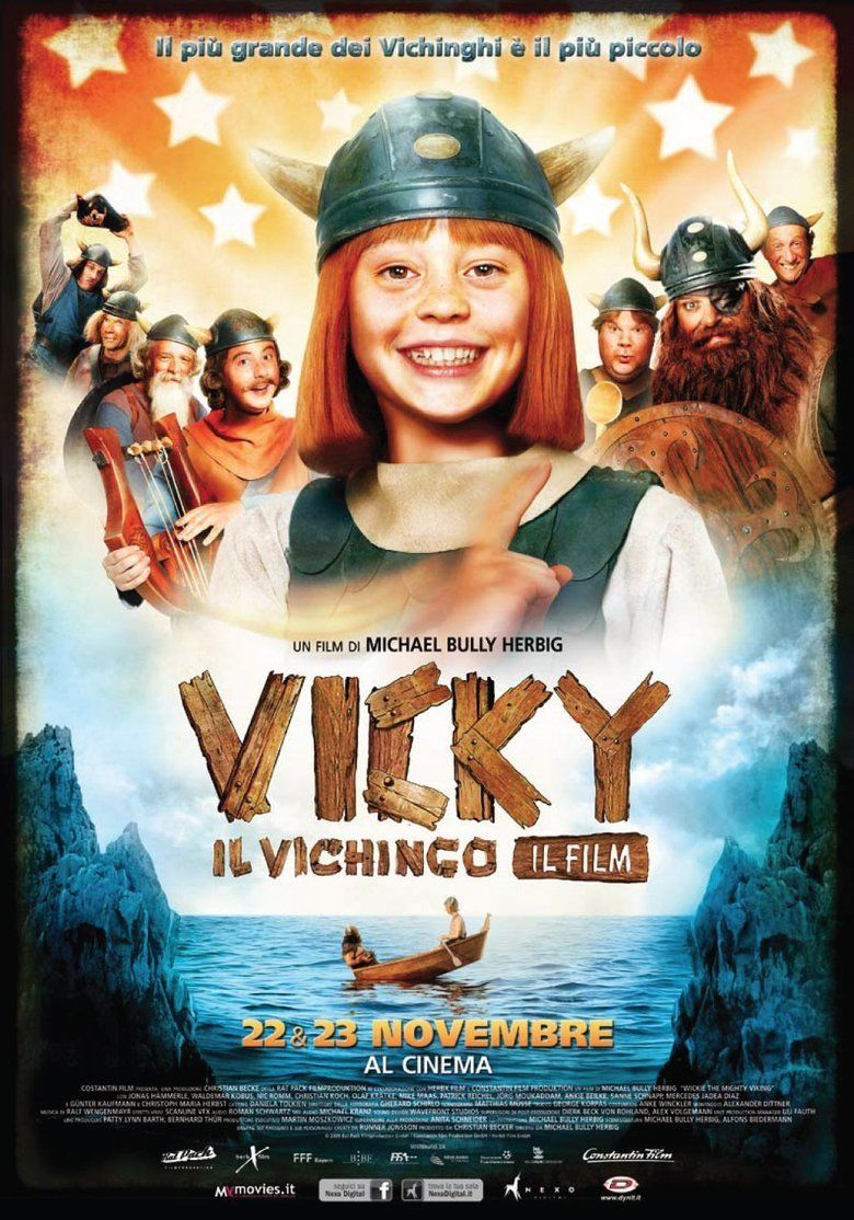 Vicky the Viking (film) movie poster