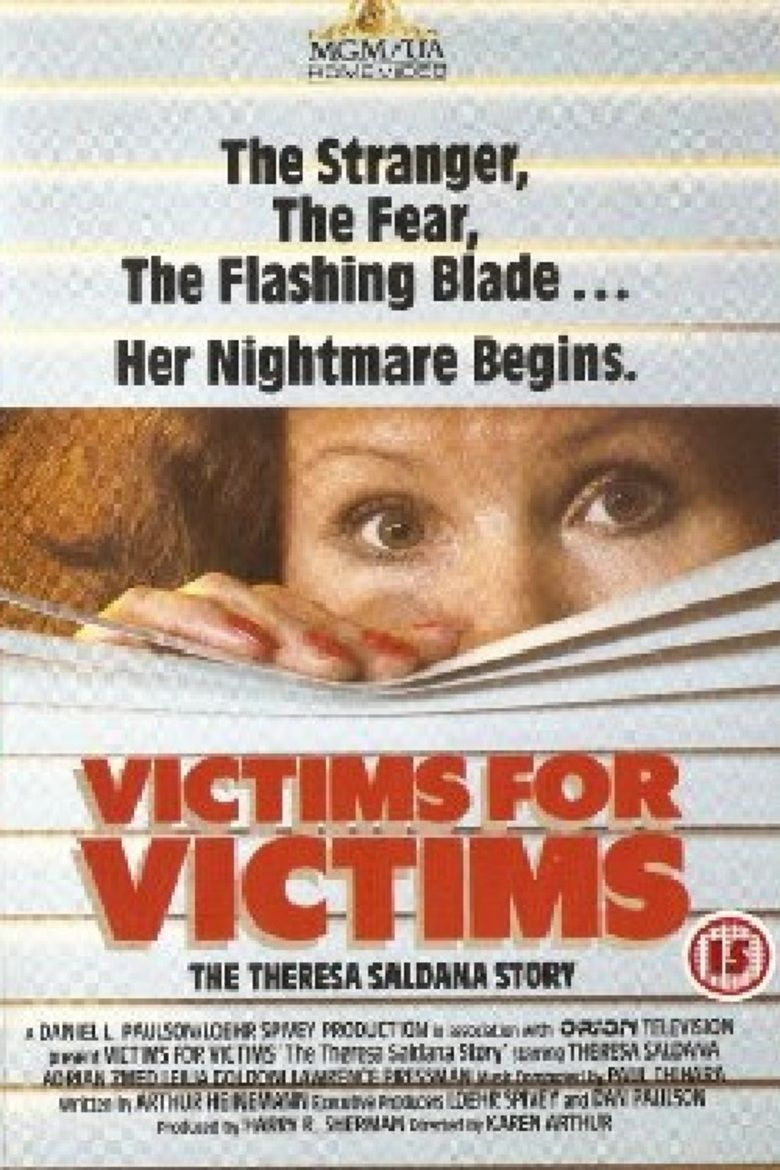 Victims for Victims: The Theresa Saldana Story movie poster