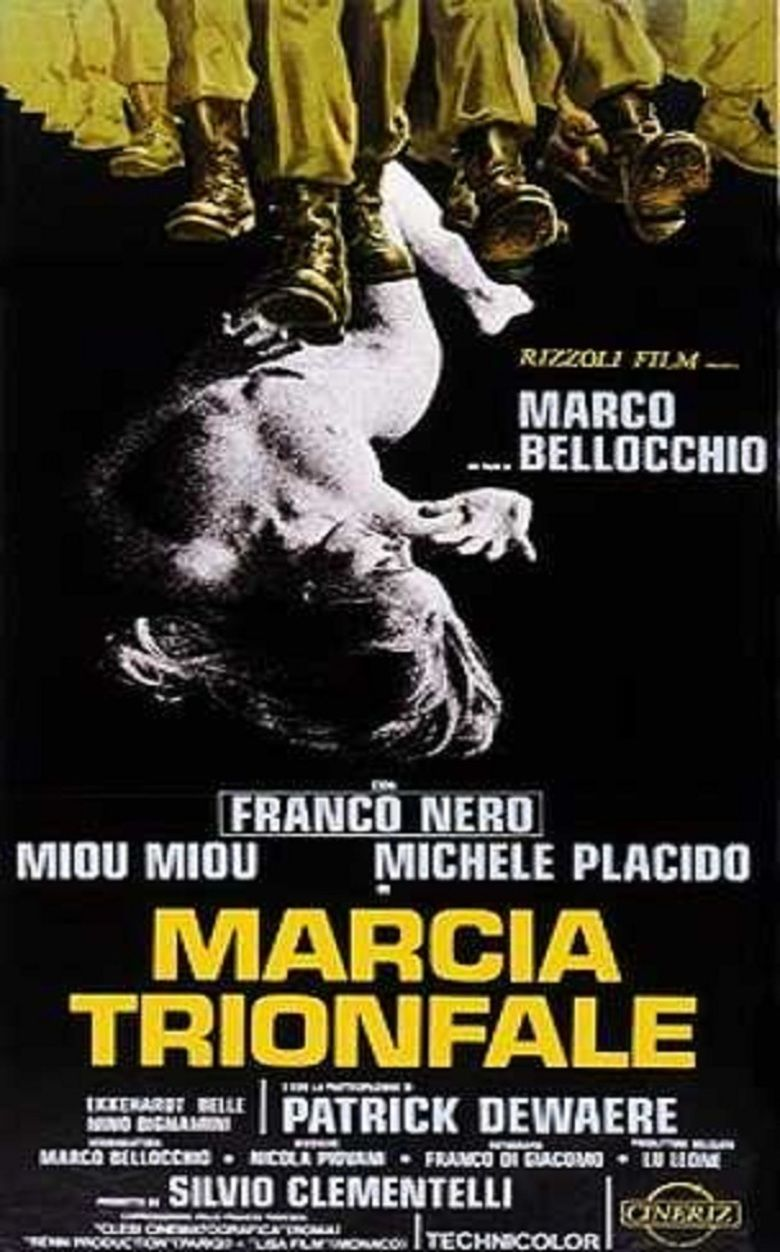 Victory March (film) movie poster