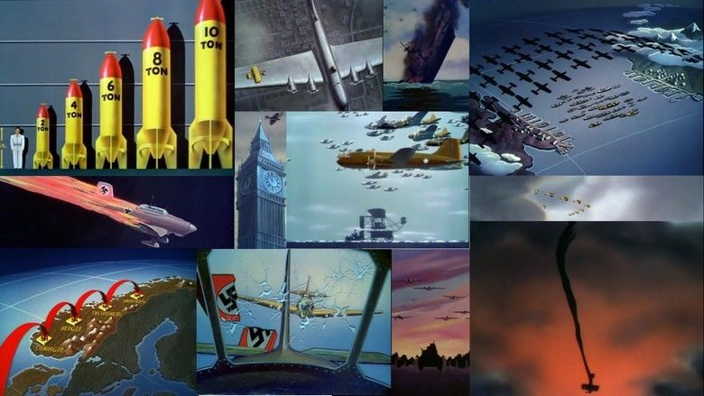 Victory Through Air Power (film) movie scenes