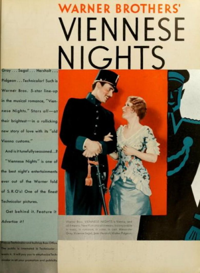 Viennese Nights movie poster