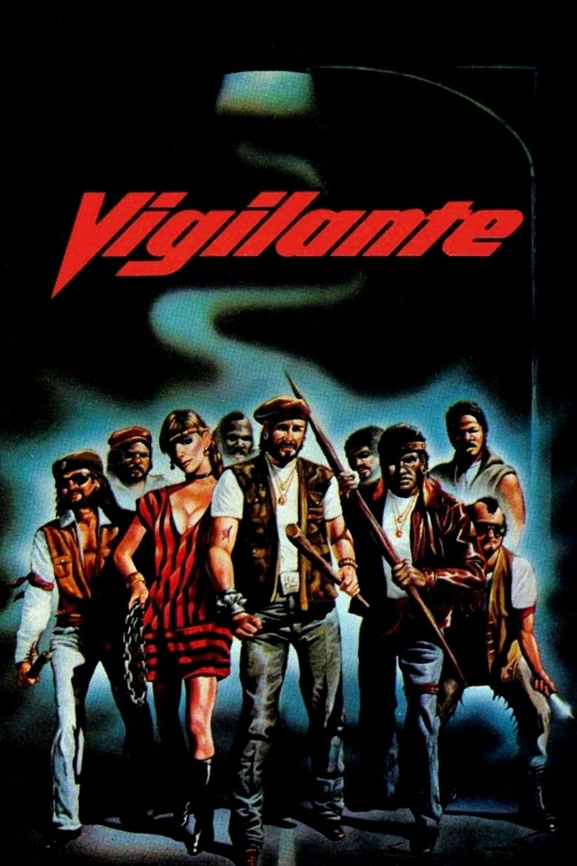 Vigilante (film) movie poster