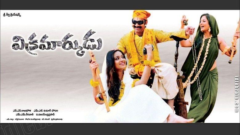 Vikramarkudu movie scenes