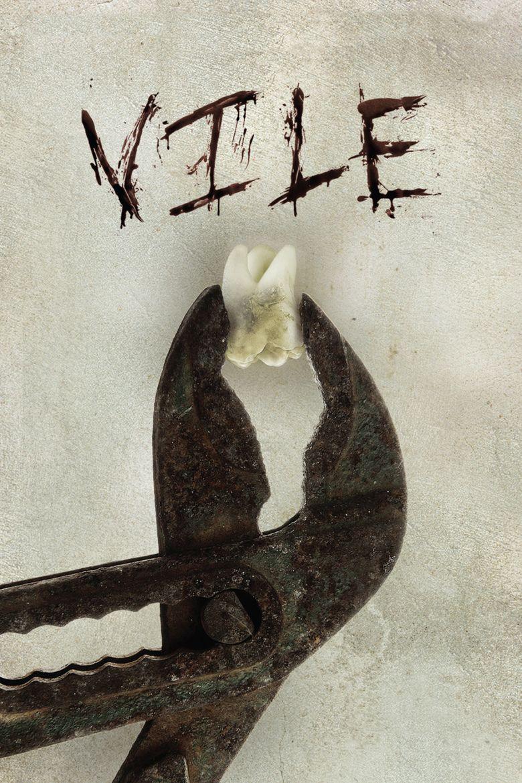 Vile (film) movie poster