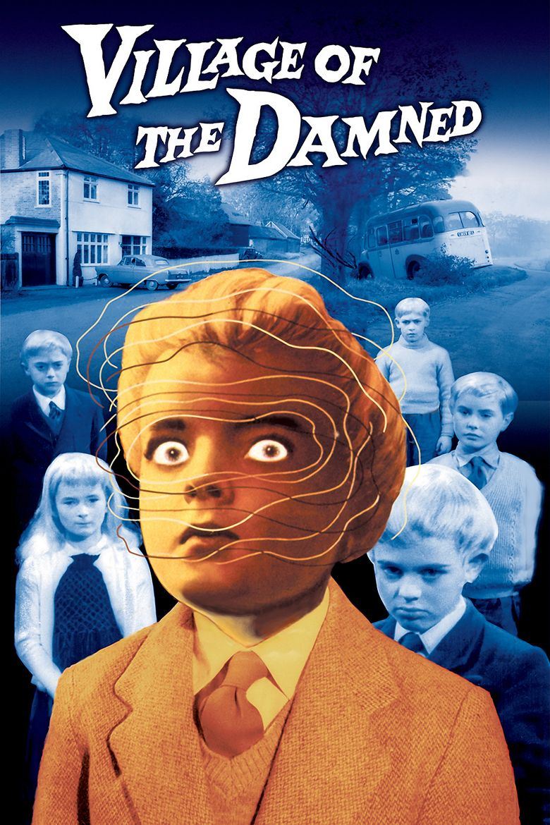 Village of the Damned (1960 film) movie poster