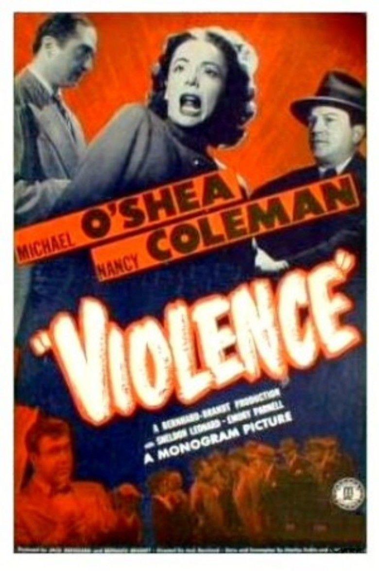 Violence (film) movie poster