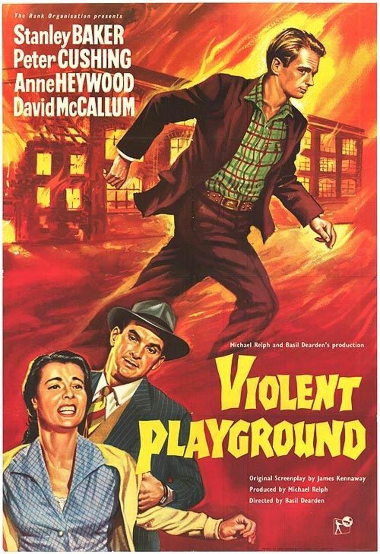 Violent Playground movie poster