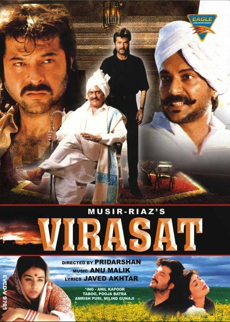 Virasat (1997 film) movie poster