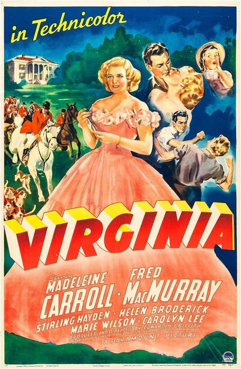 Virginia (1941 film) movie poster