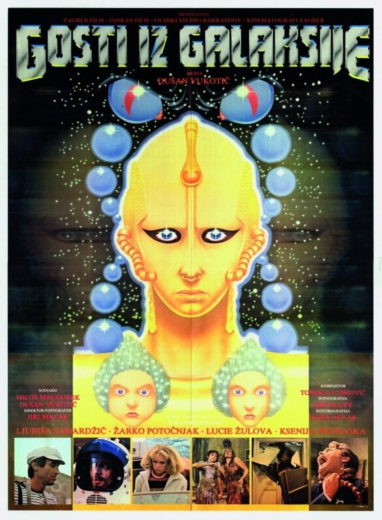 Visitors from the Galaxy movie poster