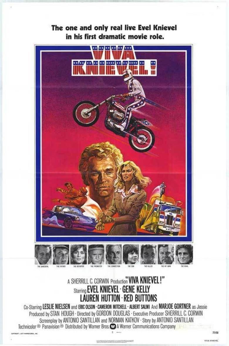 Viva Knievel! movie poster