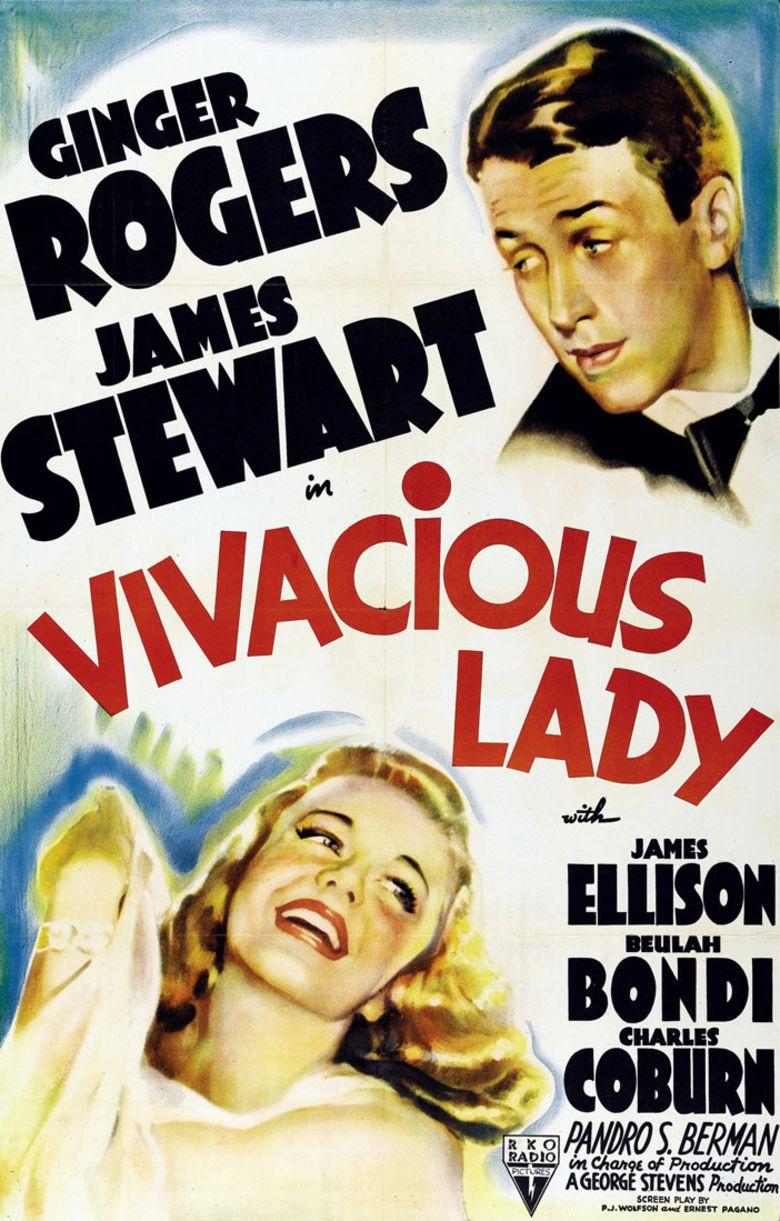 Vivacious Lady movie poster