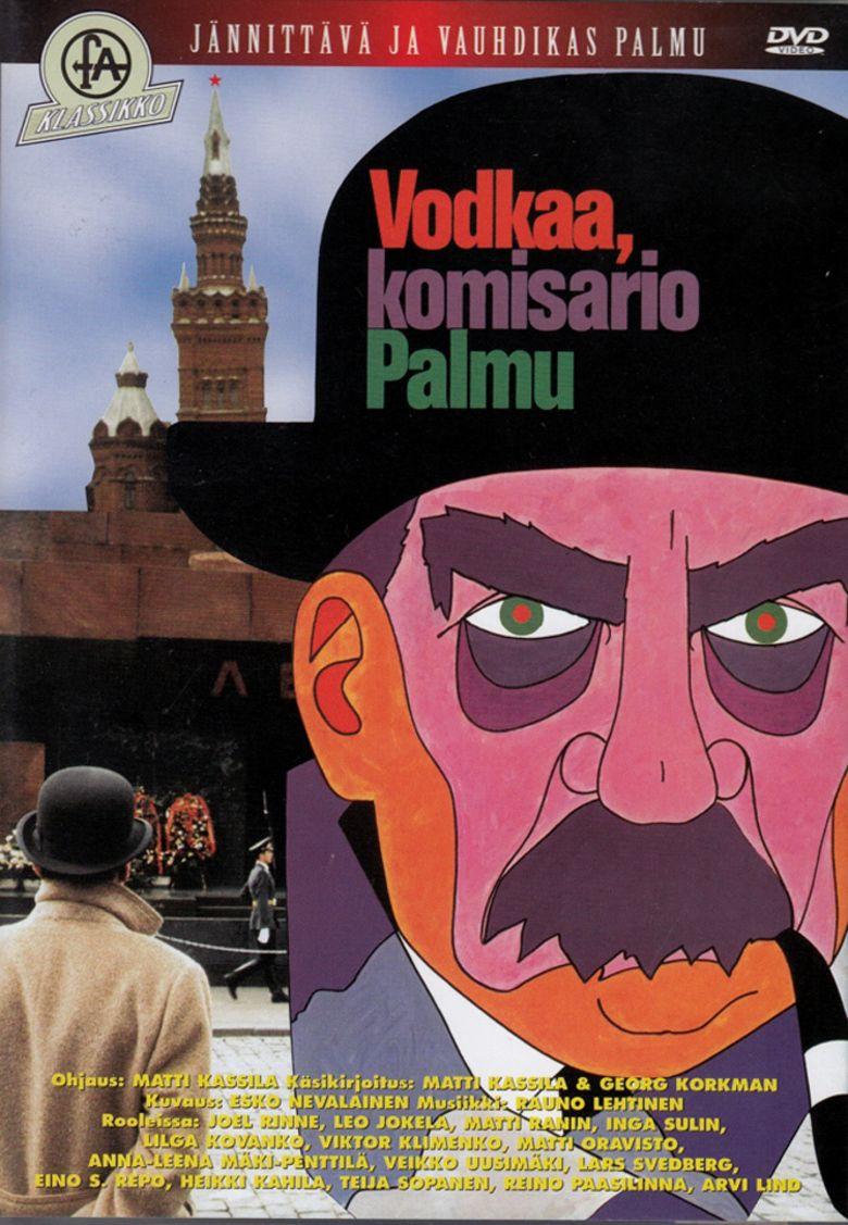 Vodkaa, komisario Palmu movie poster