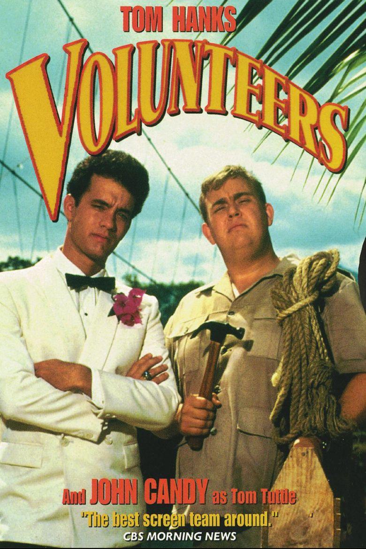 Volunteers (film) movie poster