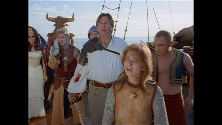 Voyage of the Unicorn movie scenes