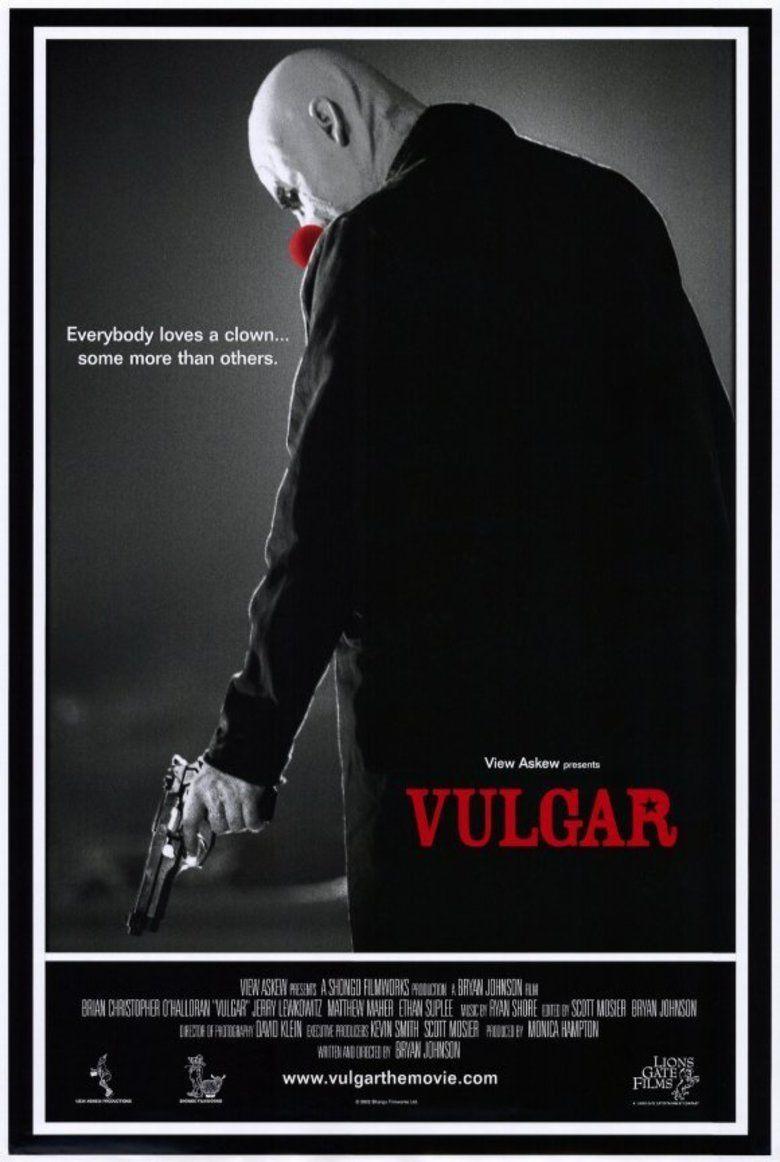 Vulgar (film) movie poster