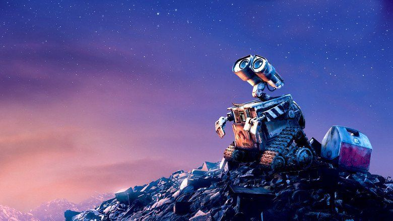 WALL E movie scenes
