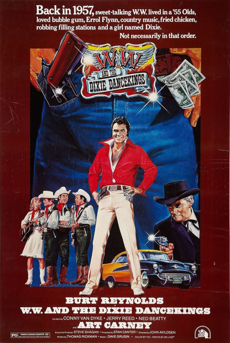 WW and the Dixie Dancekings movie poster
