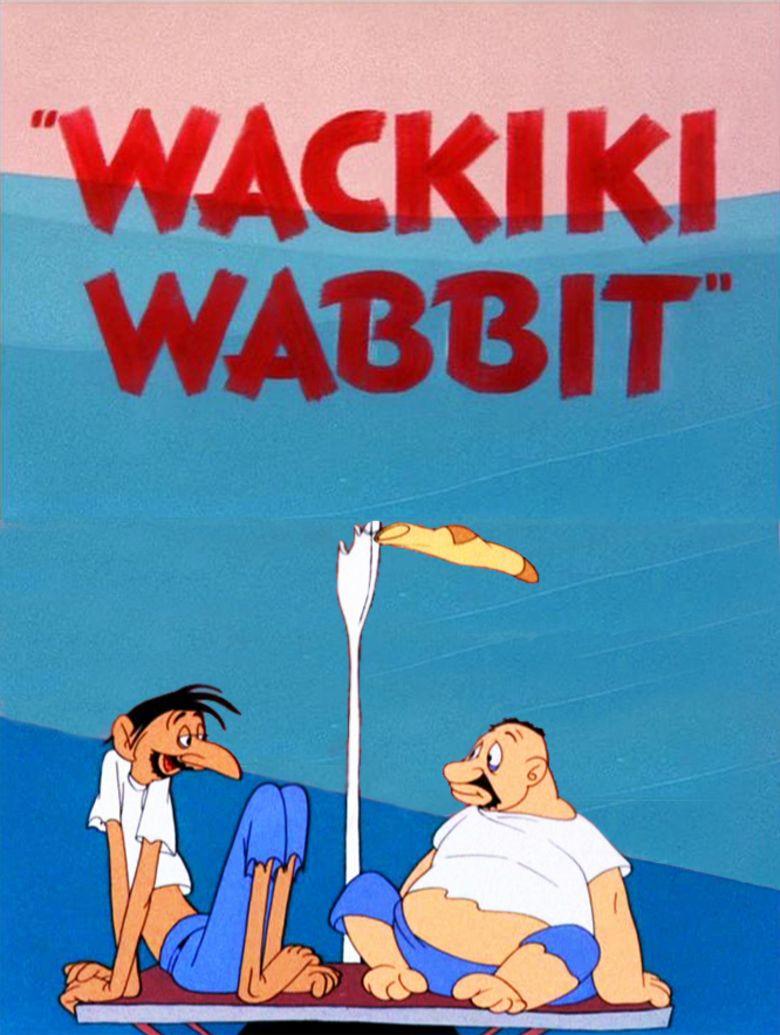 Wackiki Wabbit movie poster