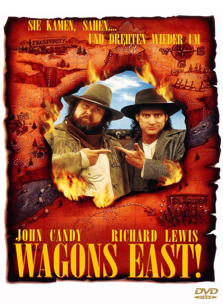 Wagons East! movie poster