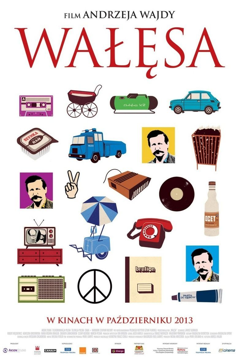 Walesa Man of Hope movie poster