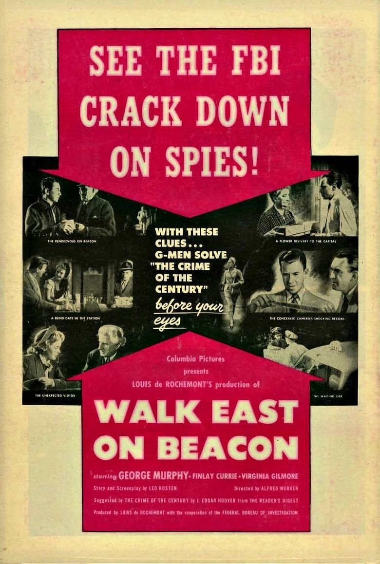 Walk East on Beacon movie poster