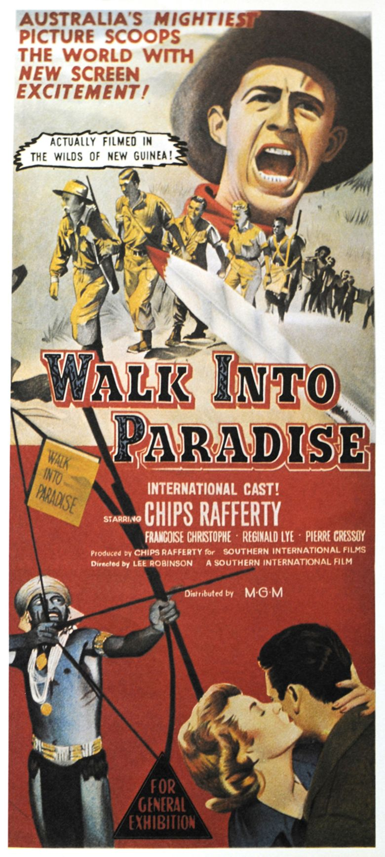 Walk Into Paradise movie poster