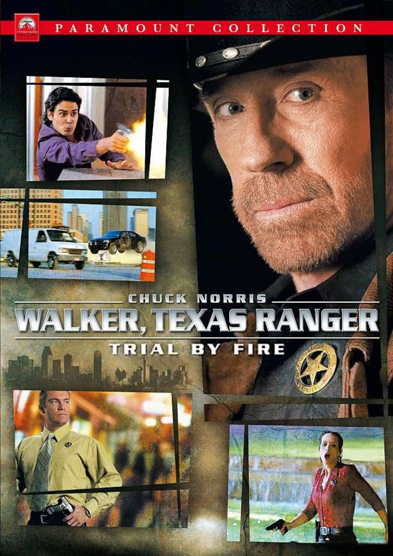 Walker, Texas Ranger: Trial by Fire movie poster