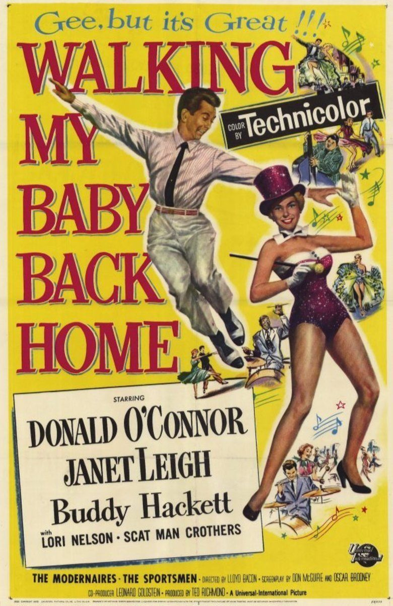 Walking My Baby Back Home (film) movie poster