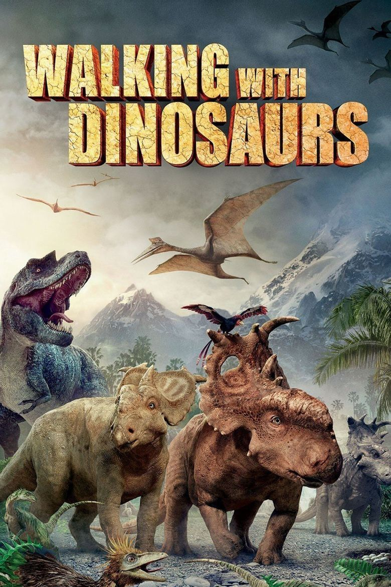 Walking with Dinosaurs (film) movie poster