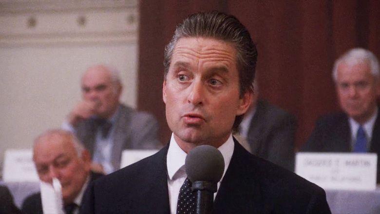Wall Street (1987 film) movie scenes