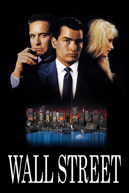 Wall Street (1987 film) movie poster