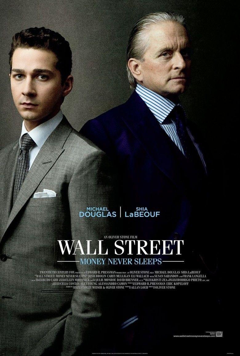 Wall Street: Money Never Sleeps movie poster