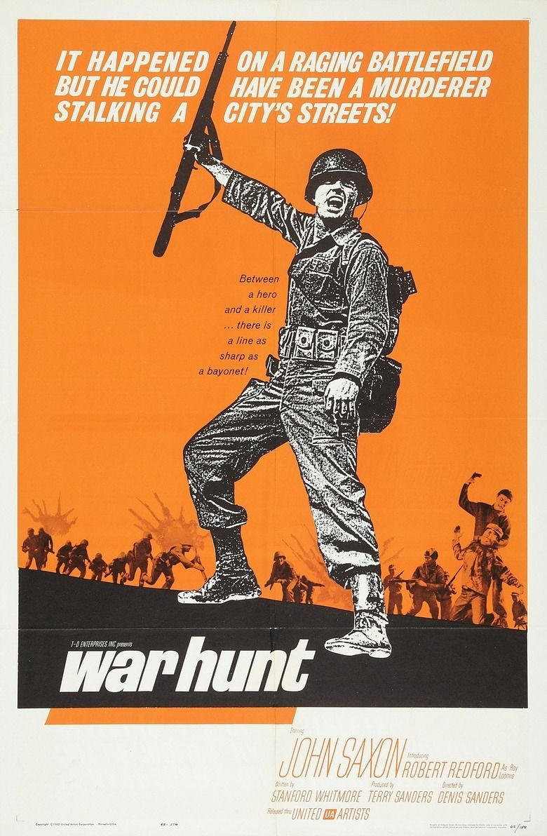 War Hunt movie poster