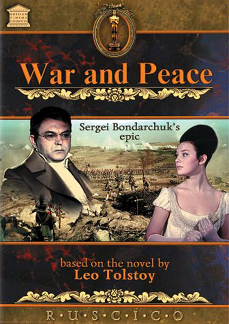War and Peace (film series) movie poster