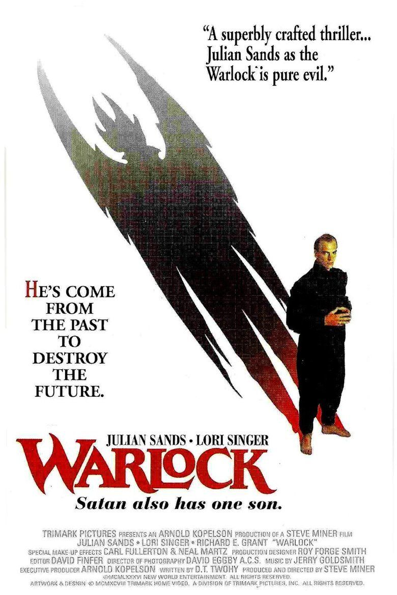 Warlock (1989 film) movie poster
