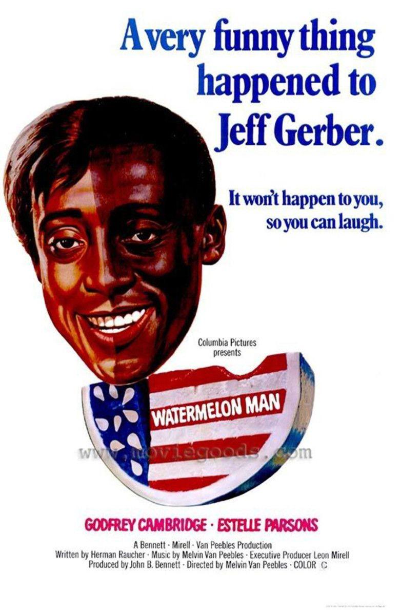 Watermelon Man (film) movie poster
