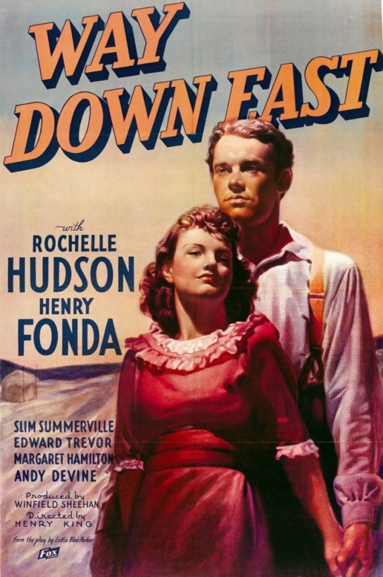 Way Down East (1935 film) movie poster