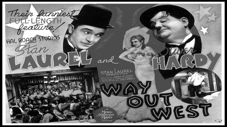 Way Out West (1937 film) movie scenes