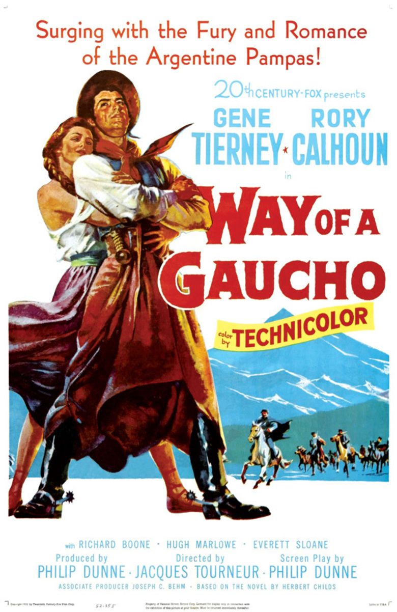 Way of a Gaucho movie poster