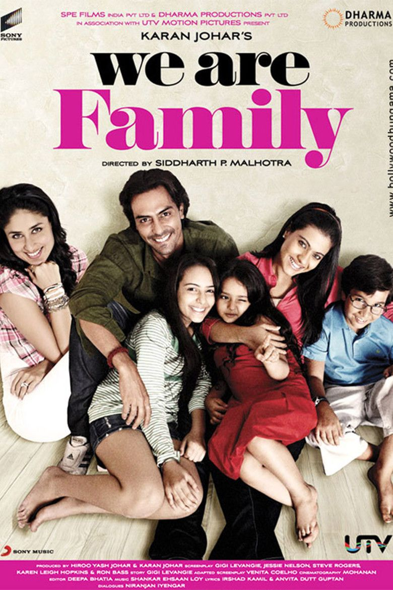 We Are Family (film) movie poster