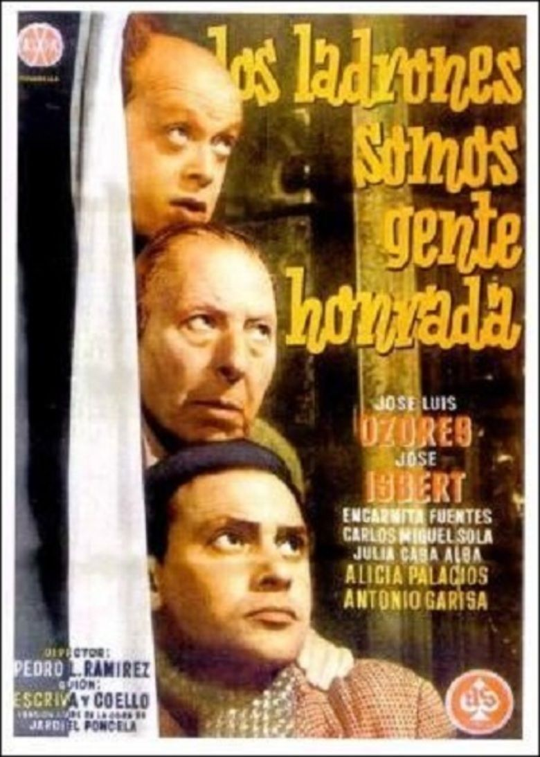 We Thieves Are Honourable (1956 film) movie poster