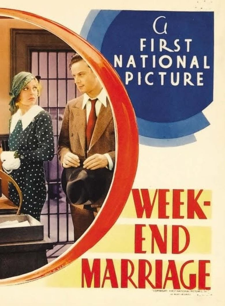 Week End Marriage movie poster