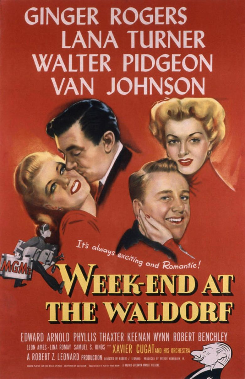 Week End at the Waldorf movie poster