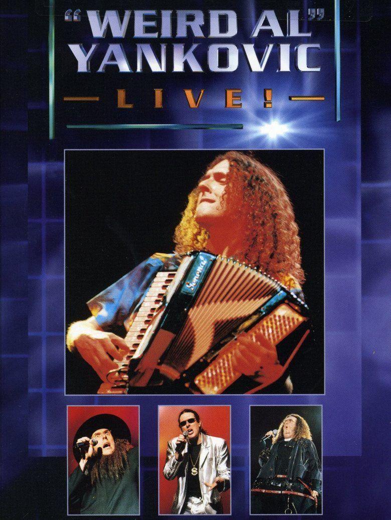 Weird Al Yankovic Live! movie poster