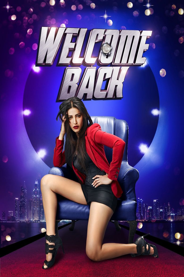 Welcome Back (film) movie poster