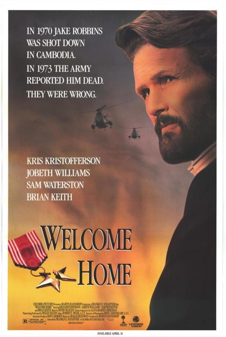 Welcome Home (1989 film) movie poster