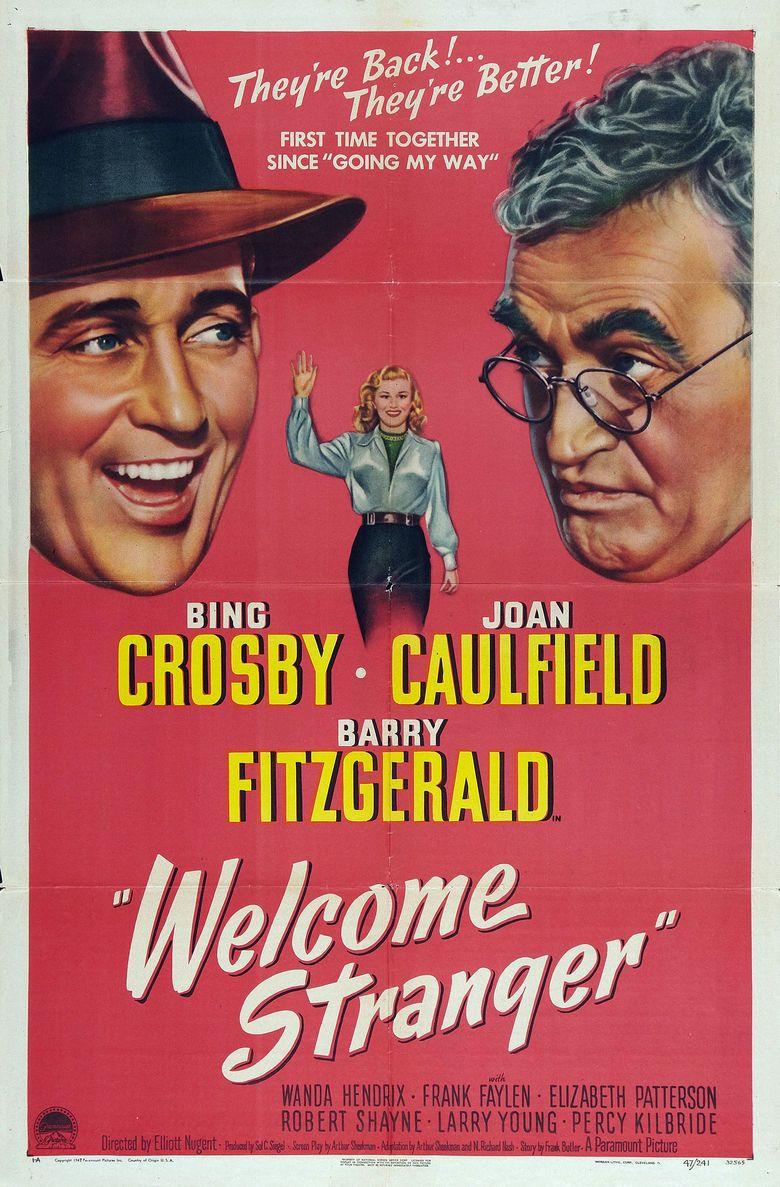 Welcome Stranger (film) movie poster