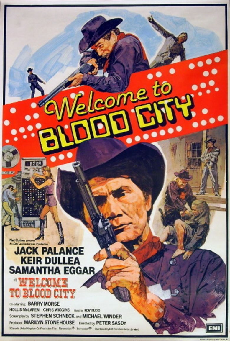 Welcome to Blood City movie poster